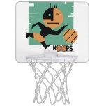 Aro de los aros de baloncesto mini