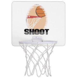 Aro del lanzamiento del baloncesto mini tablero de baloncesto mini