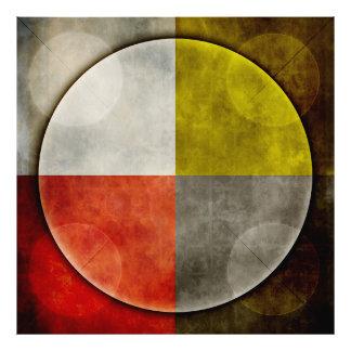 Aro sagrado del nativo americano cojinete