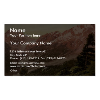 Arolla the hotel Valais Alps of Switzerland vi Business Card Template
