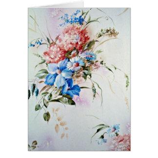 Aroma flowers card