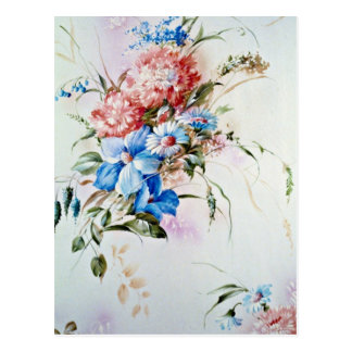 Aroma flowers postcard