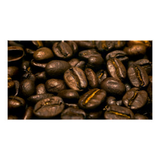 AROMA of COFFEE BEANS Poster