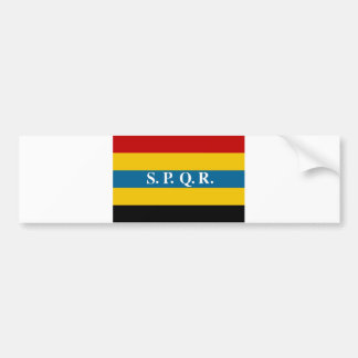 aromanian people ethnic flag bumper sticker