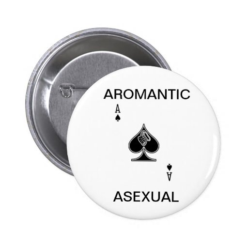 Aromantic Asexual Button