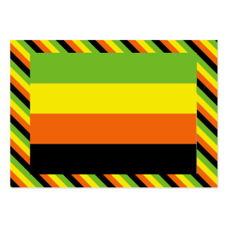 AROMANTIC FLAG PATTERN LARGE BUSINESS CARDS (Pack OF 100)
