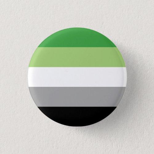 Aromantic Pride Button