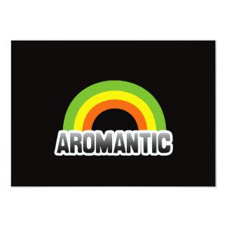 Aromantic Pride Card