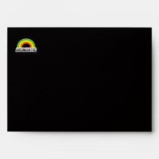 Aromantic Pride Envelope