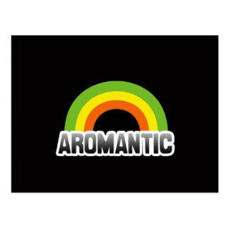 Aromantic Pride Postcard