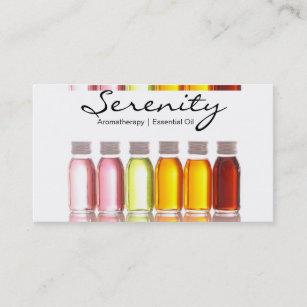 Essential oil business cards templates zazzle aromaterapy essential oil business card colourmoves