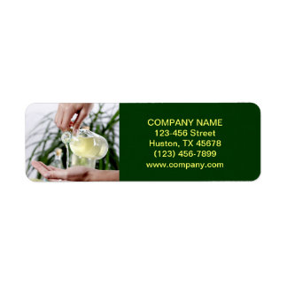 Aromatherapy Essential Oil beauty SPA massage Label