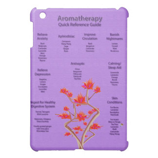 Aromatherapy Quick Reference Chart iPad Mini Cases