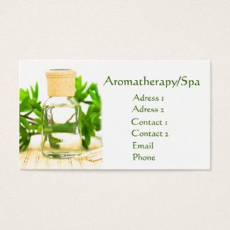 Aromatherapy/Spa Business Card