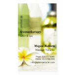 Aromatherapy Spa Skin Care Massage Salon Double-Sided Standard Business Cards (Pack Of 100)