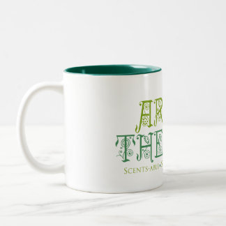 AromaTherapy Two Tone Mug, 11oz Two-Tone Coffee Mug