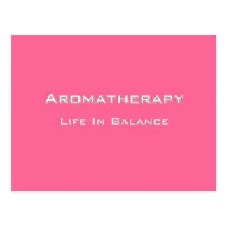 Aromatherapy - White text Postcard