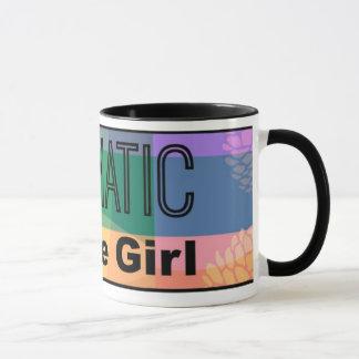 Aromatic Coffee Girl Mug