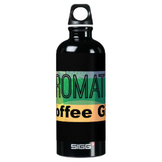 Aromatic Coffee Girl Water Bottle
