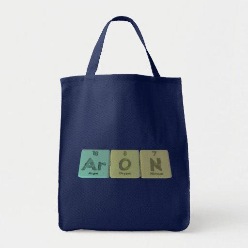 Aron como nitrógeno del oxígeno del argón bolsa de mano