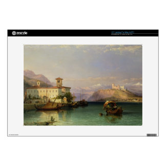 Arona and the Castle of Angera, Lake Maggiore, 185 Laptop Skins