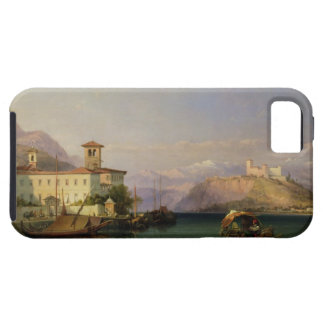 Arona y el castillo de Angera, lago Maggiore, 185 Funda Para iPhone SE/5/5s