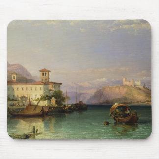 Arona y el castillo de Angera, lago Maggiore, 185 Tapetes De Ratón