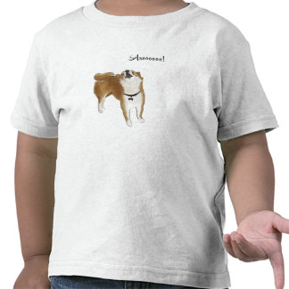 Arooo! Shiba Inu Tshirt