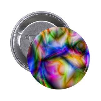 Arora Borialus Marbleized Colors Pinback Button