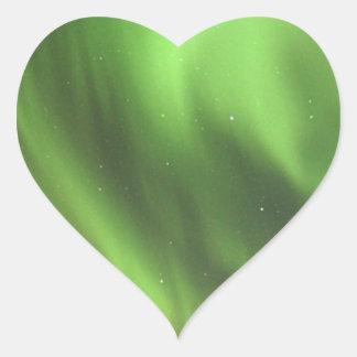 Arora Pegatina En Forma De Corazón