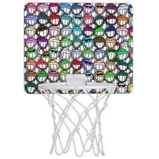 Aros de baloncesto de la mueca 1 minicanastas