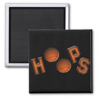 Aros de baloncesto imanes de nevera