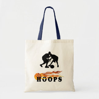 Aros de baloncesto llameantes bolsas
