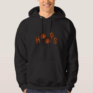 Aros de baloncesto pulóver con capucha
