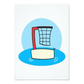 """Aros de la piscina invitación 5"""" x 7"""""""