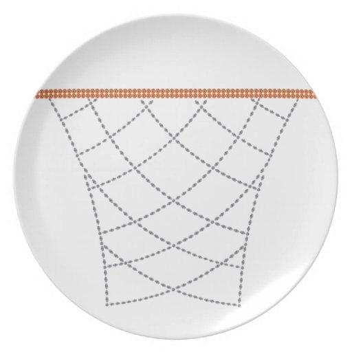 Aros del diamante plato