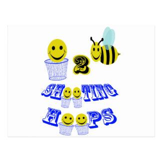 aros del tiroteo de happy2bee postal