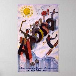 Arosa Switzerland Print