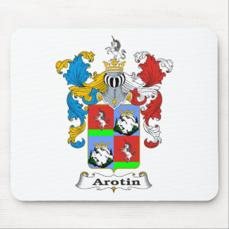 Arotin Family Hungarian Coat of Arms Mouse Pad