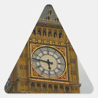 Around Britain,  Big Ben, Clock tower, Westminster Triangle Sticker