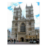 Around Britain,    Westminster Abbey Post Card
