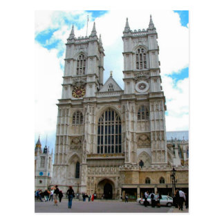 Around Britain,    Westminster Abbey Postcard