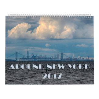 Around New York Calendar 2017