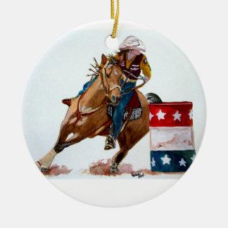 Around The Barrel Christmas Ornaments