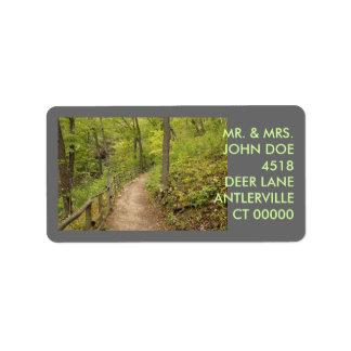 Around the Bend Address Label