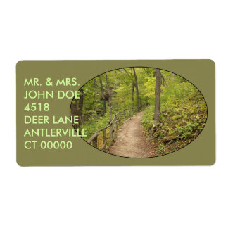 Around the Bend Custom Shipping Labels