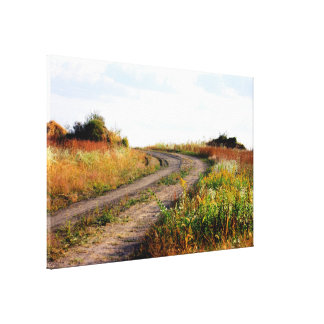 """Around The Bend"" Landscape Photography Art Canvas Print"