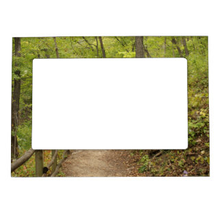 Around the Bend Picture Frame Magnets