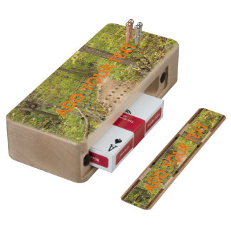 Around the Bend Maple Cribbage Board