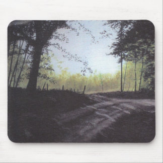 """AROUND THE BEND"" MOUSE PAD"